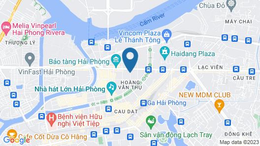 Bao Anh Hotel Map