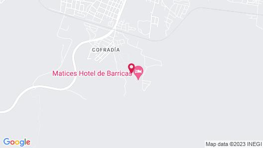 Matices Hotel de Barricas Map