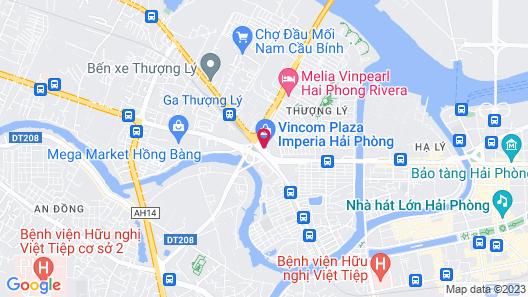 Vinpearl Hotel Imperia Hai Phong Map