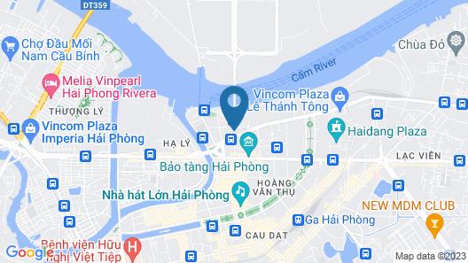 Draco Thang Long Hotel Map