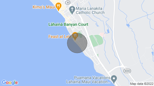 Stunning Ocean Views - Small Boutique Resort Map