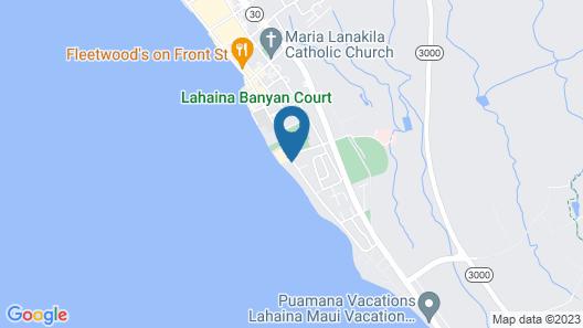 Lahaina Shores Beach Resort, a Destination by Hyatt Residence Map