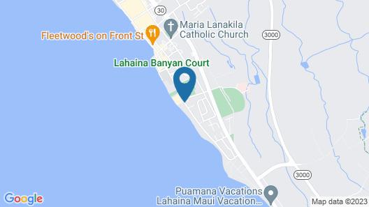 Lahaina Shores Beach Resort Map