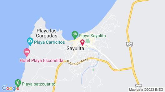 Buenavista Boutique - Punta Sayulita Map