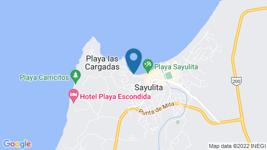 Ysuri Sayulita - Beachfront Hotel Map