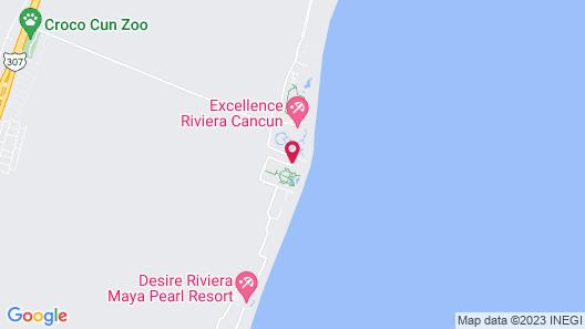 Acamaya Reef Cabanas - Caravan Park Map