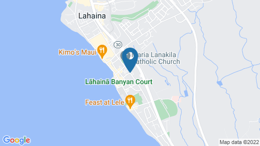 Aina Nalu Lahaina by Outrigger Map