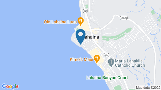 Puunoa Beach Estates, a Destination by Hyatt Residence Map
