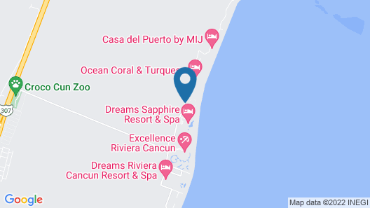 Ocean Coral & Turquesa - All Inclusive Map