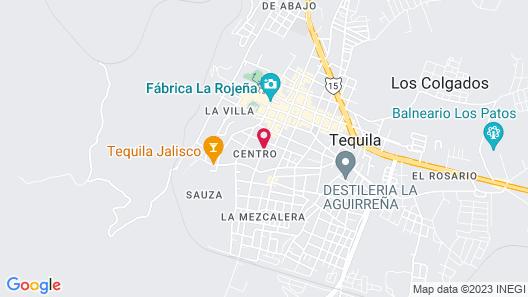 Hotel Plaza Rubio Map