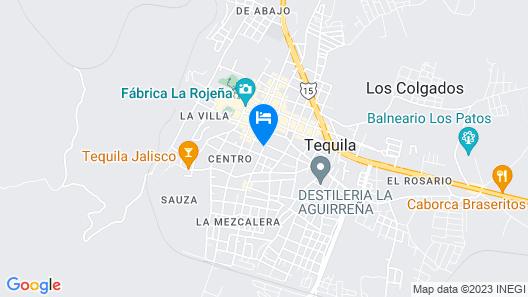 Hotel Casa La Gran Senora Map