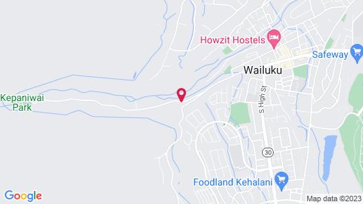 Iao Valley Inn Map
