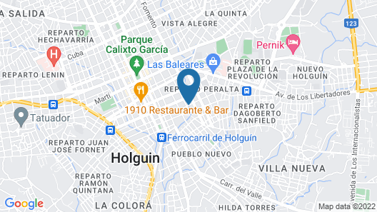 Hostal Refugio de Reyes Map