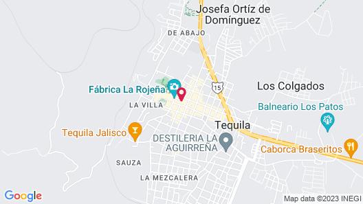 Hotel Plaza Jardín Map