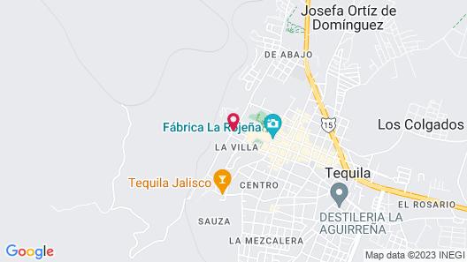 Casa Salles Hotel Boutique Map