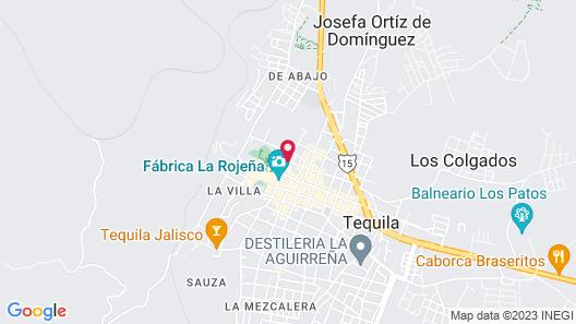 Hotel Solar de las Animas Map