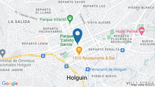 Hostal Santisteban Map