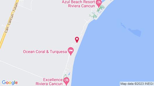 Casa del Puerto By MIJ - Beachfront Hotel Map