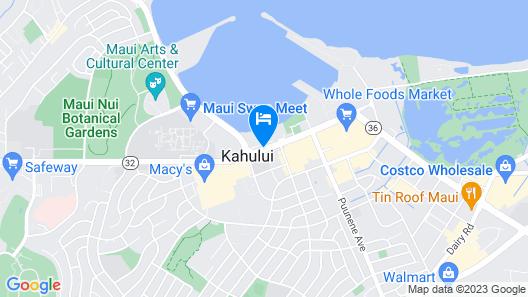 Maui Beach Hotel Map