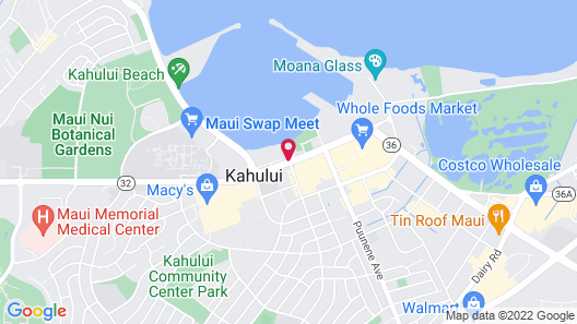 Maui Seaside Hotel Map