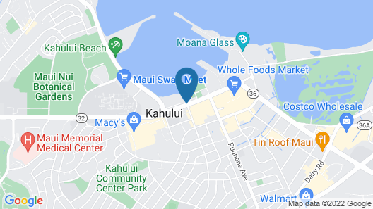 Maui Seaside Hotel Map