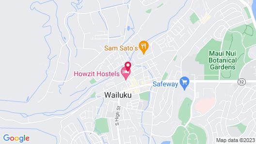 Hostel City Maui - 1 Map