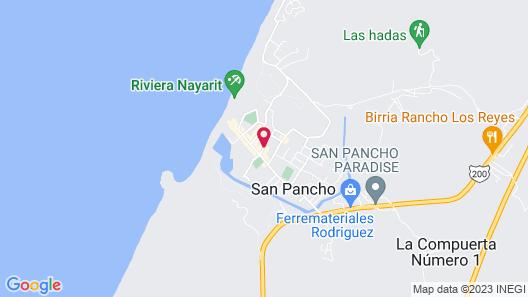 Hotel Cielo Rojo Map