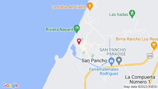Hotel Casa Palomera Map