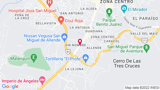 Hotel La Casona Map