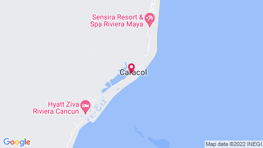 Breathless Riviera Cancun Resort & Spa - Adults Only Map