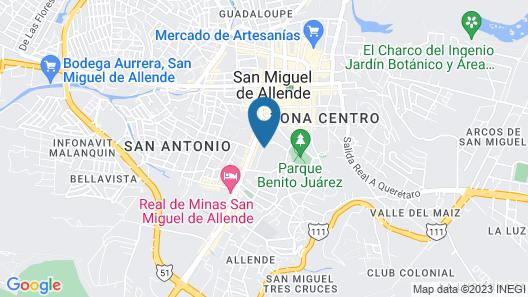 Rosewood San Miguel De Allende Map