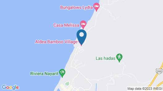 Aldea Bamboo Village - Glamping Map