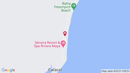 Zoetry Paraiso de la Bonita Riviera Maya - All Inclusive Map