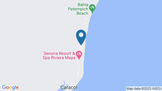 Zoetry Paraiso de la Bonita Riviera Maya Map