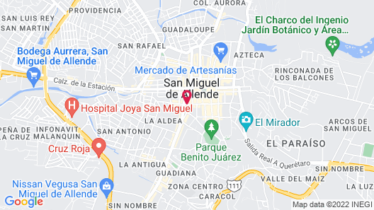 Hotel Pila Seca 11 Map