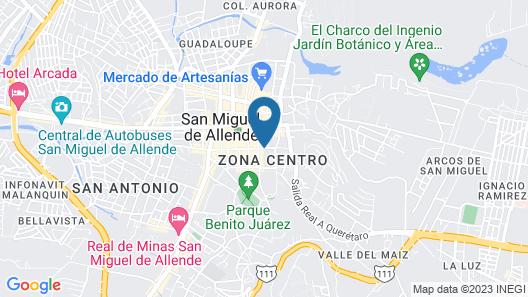 Casa Quetzal Map