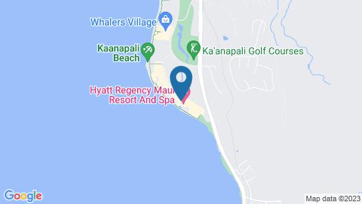 Hyatt Residence Club Maui, Kaanapali Beach Map