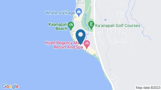 Hyatt Regency Maui Resort & Spa Map
