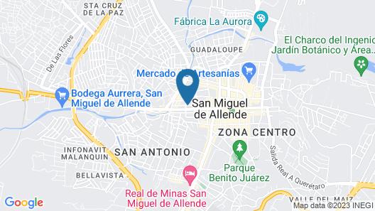 Casa de la O - Adults Only  Map