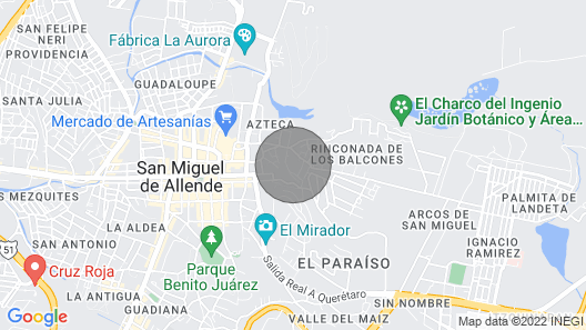 Antigua Capilla Bed and Breakfast Map