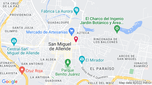 Hotel Amparo Map