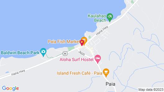Paia Inn Map