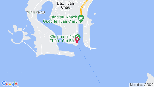 Vietyacht Marina Club - Halong Bay Cruise Map