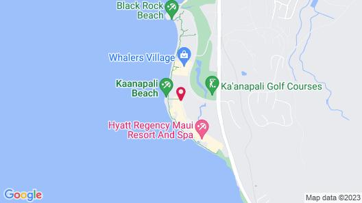 Marriott's Maui Ocean Club - Molokai, Maui & Lanai Towers Map