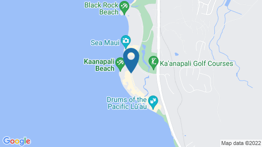 Marriott's Maui Ocean Club - Lahaina & Napili Towers Map