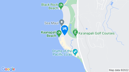 Kaanapali Alii, a Destination by Hyatt Residence Map