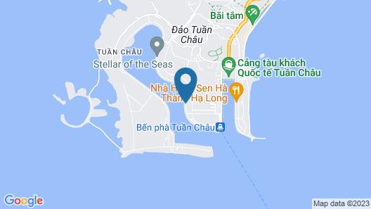 Halong Bay Hai Au Cruise Map