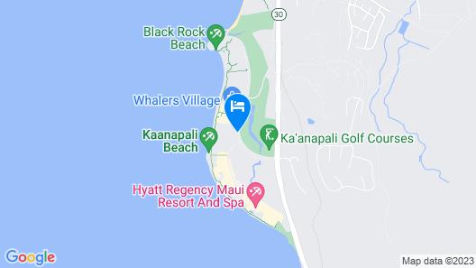 The Westin Maui Resort & Spa, Ka'anapali Map