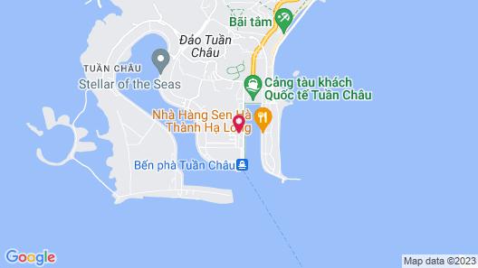 AHA An Phu Ha Long Hotel Map