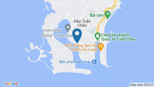 Pelican Halong Cruise Map